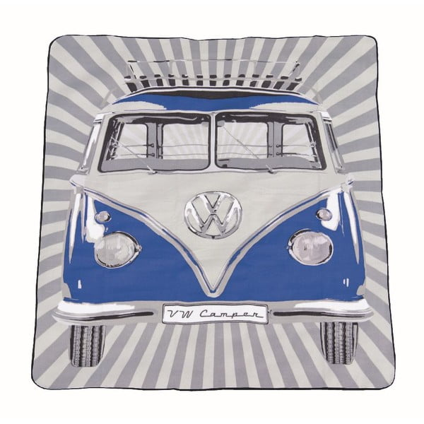 Pikniková taška s dekou VW Camper Blue