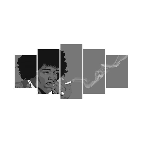 Viacdielny obraz Black&White no. 29, 100x50 cm