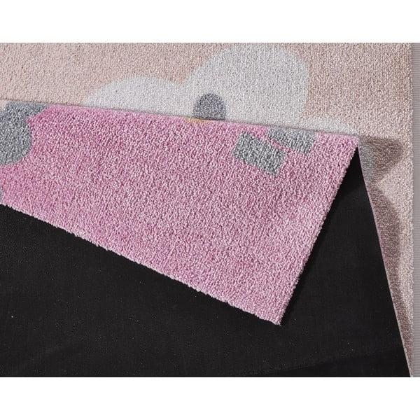 Detský koberec Hanse Home Kiddy Zámok, 100×100cm