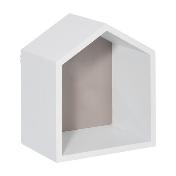 Nástenná polička House Greige, 17x20 cm