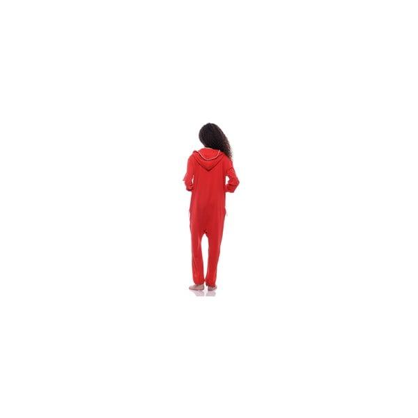 Unisex domáci overal Streetfly Thin Red, veľ. S