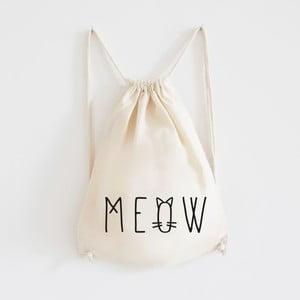 Plátený batoh Meow