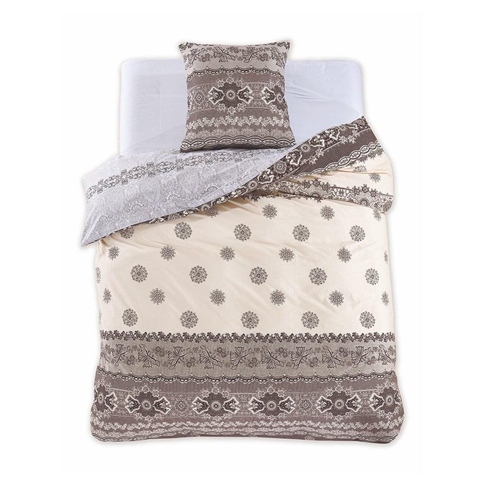 Bavlnené obliečky na jednolôžko DecoKing Diamond Annabelle, 135 × 200 cm