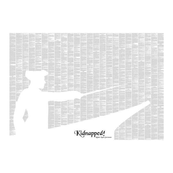 Knižný plagát Únos, 100x70 cm