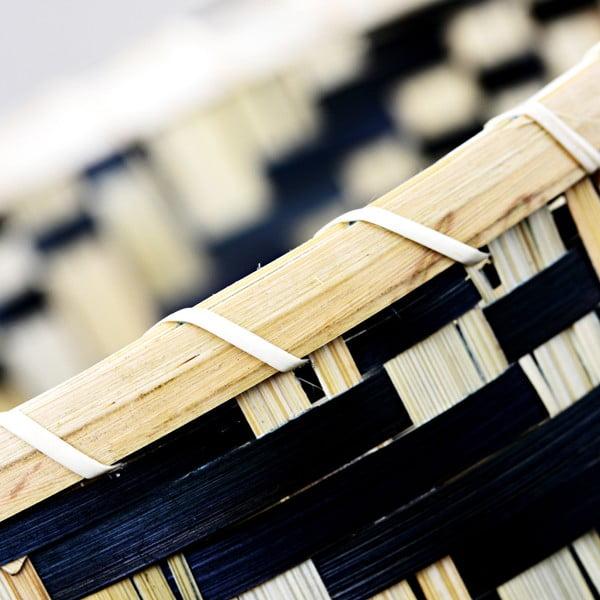 Bambusový košík a'miou home Biksakki, ⌀ 31 cm