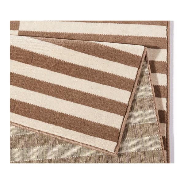 Béžovo-biely koberec Hanse Home Gloria Panel, 80 x 150 cm