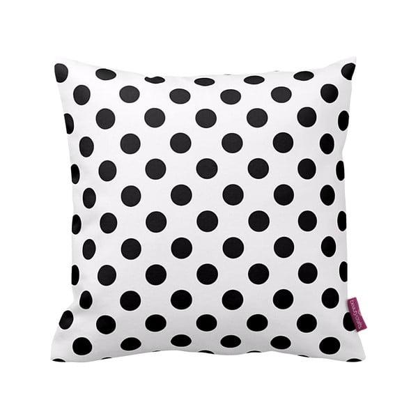 Čierno-biely vankúš Homemania Dot, 43×43cm