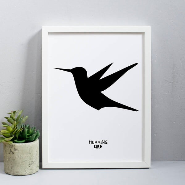 Plagát Karin Åkesson Design Humming Bird, 30x40 cm