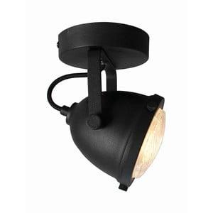 Čierne nástenné svietidlo LABEL51 Spot Moto Uno