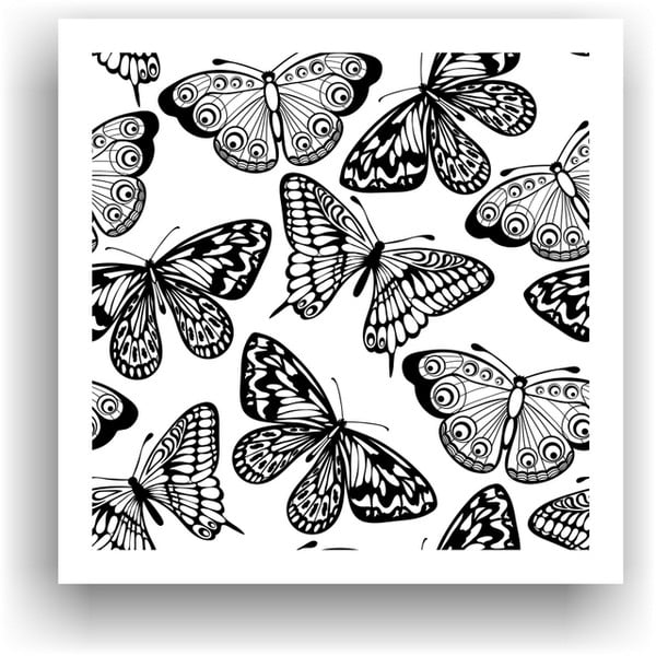 Obraz na vymaľovanie  Color It no. 14, 50x50 cm