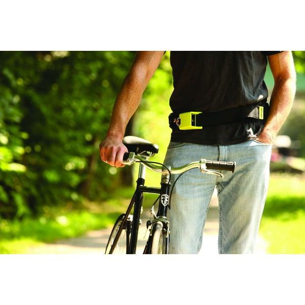 Zámok na bicykel Hiplok V1.5, black