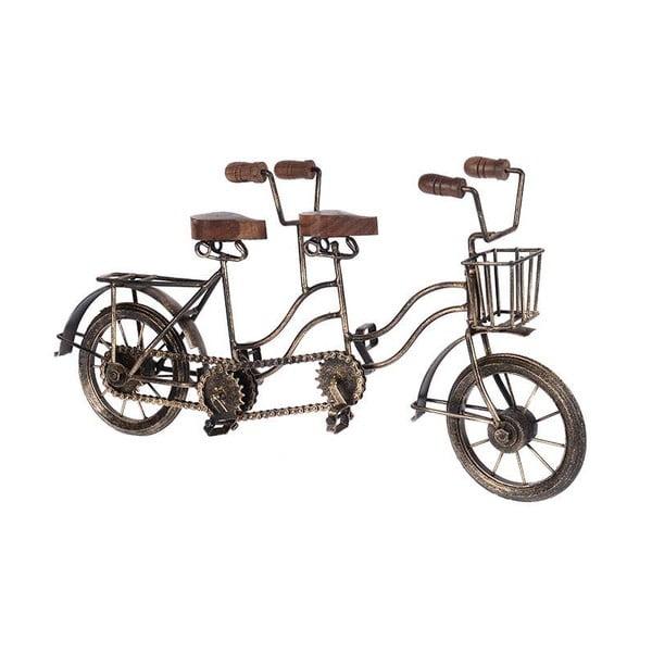Dekoratívna soška Wooden Bike