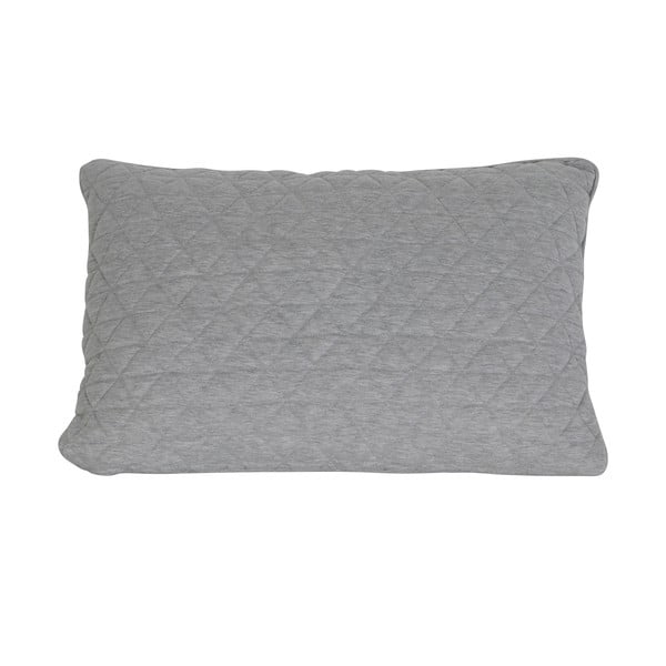 Vankúš Quilt Grey, 40x60 cm