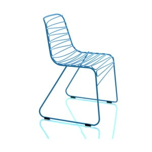 Modrá rozložiteľná stolička Magis Flux
