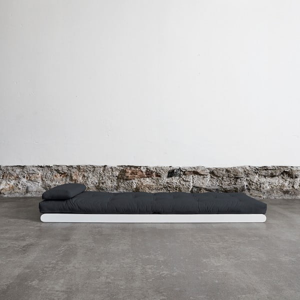 Leňoška Karup Figo White / Gray,  70 cm
