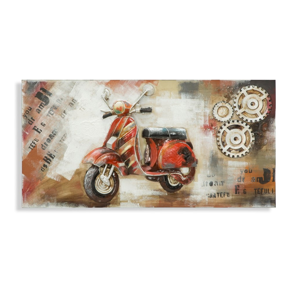 Obraz Mauro Ferretti Moped, 120 x 60 cm
