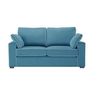 Dvojmiestna pohovka Jalouse Maison Serena, modrá