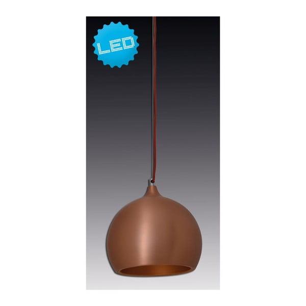 Stropné svetlo Naeve Pendell Globe Brown