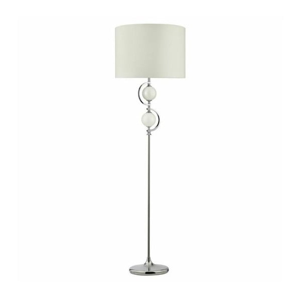Stojacia lampa Drum White