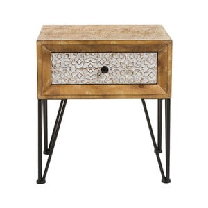 Nočný stolík z jedľového dreva Santiago Pons Nara