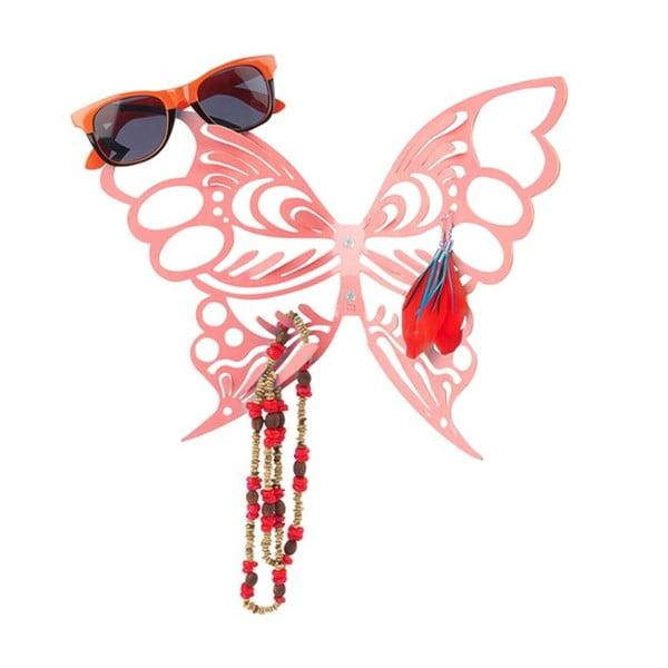 Stojan na šperky Butterfly Red