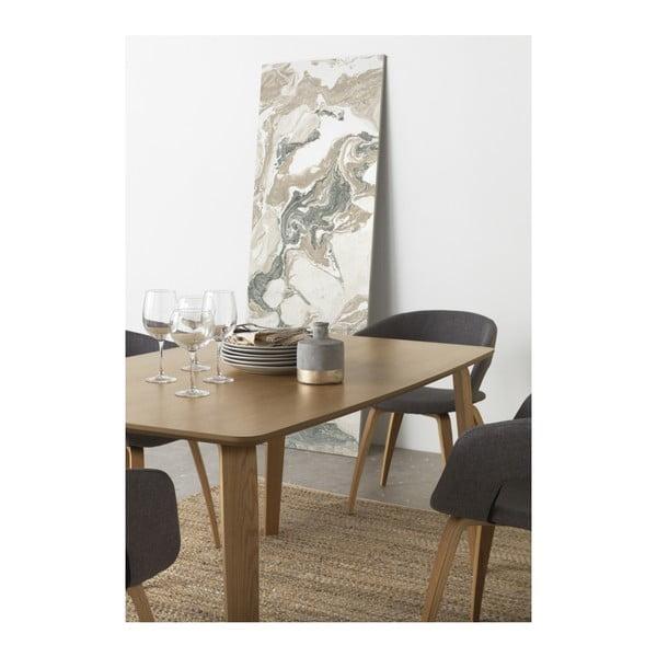 Jedálenský stôl Geese Natural, 150×90 cm