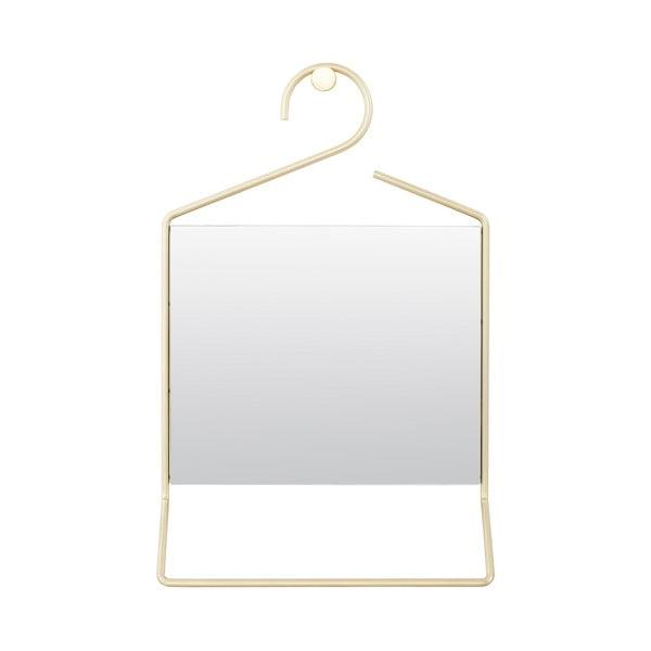 Závesné zrkadlo Hang, zlaté