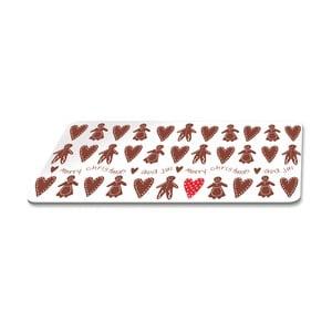 Podnos s vianočným motívom PPD Scandic Biscuits, 23,3 × 14,3 cm