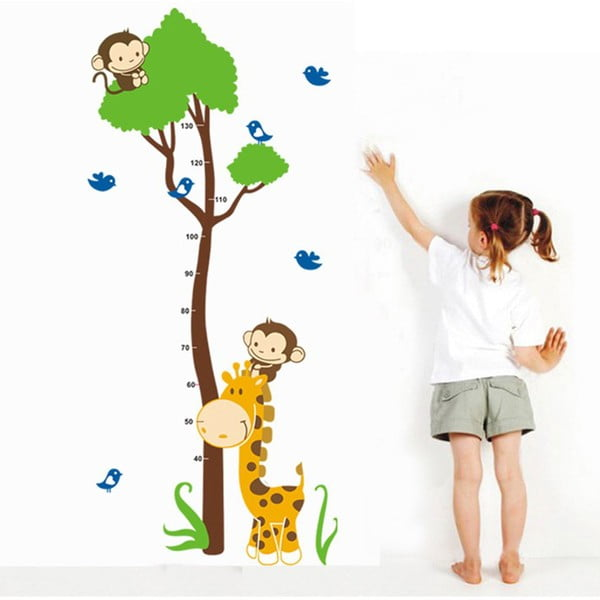 Dekoratívna samolepka Meter Animals, 150x75 cm