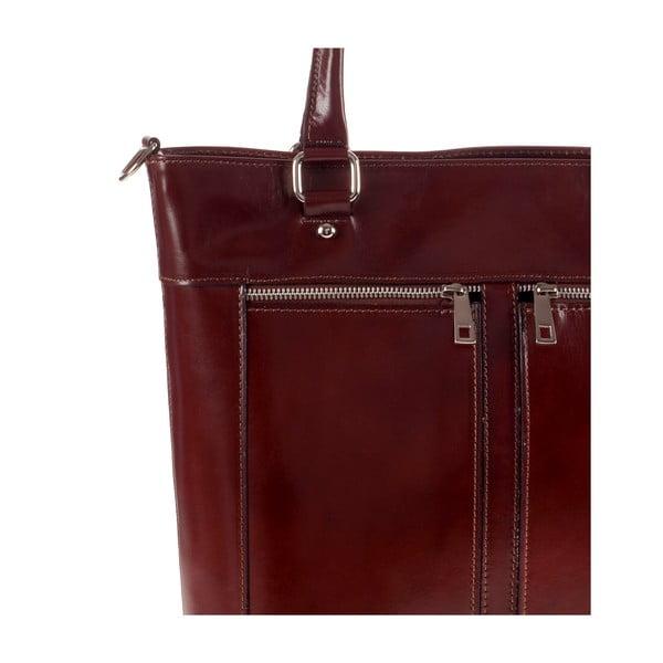 Kožená kabelka Ore Diece Albettone, hnedá