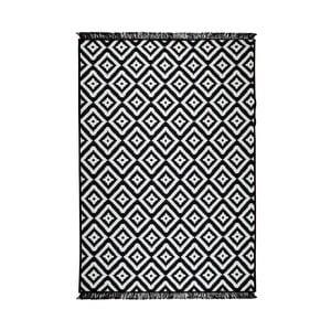 Čierno-biely obojstranný koberec Helen, 160×250 cm