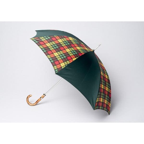 Dáždnik Tartan, multi zelený