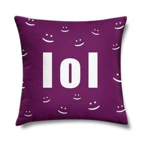Vankúš LOL Violet, 43x43 cm