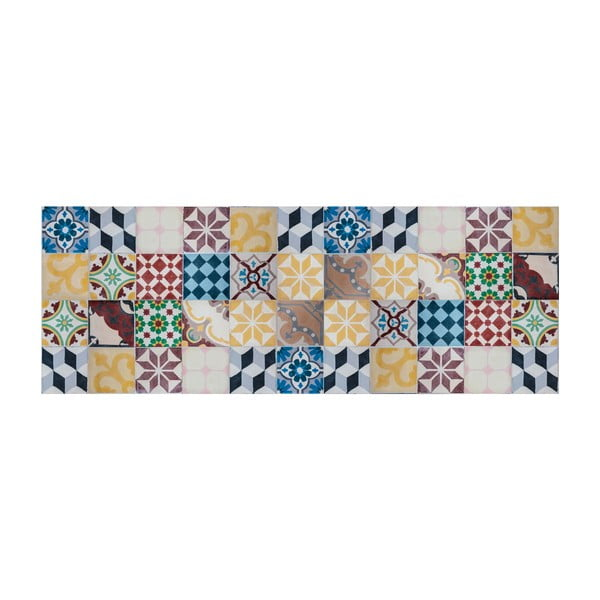 Vinylový koberec Mosaico Vintage, 50x100 cm