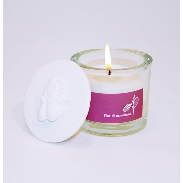 Aromatická sviečka THD Fragnances, mandľový kvet