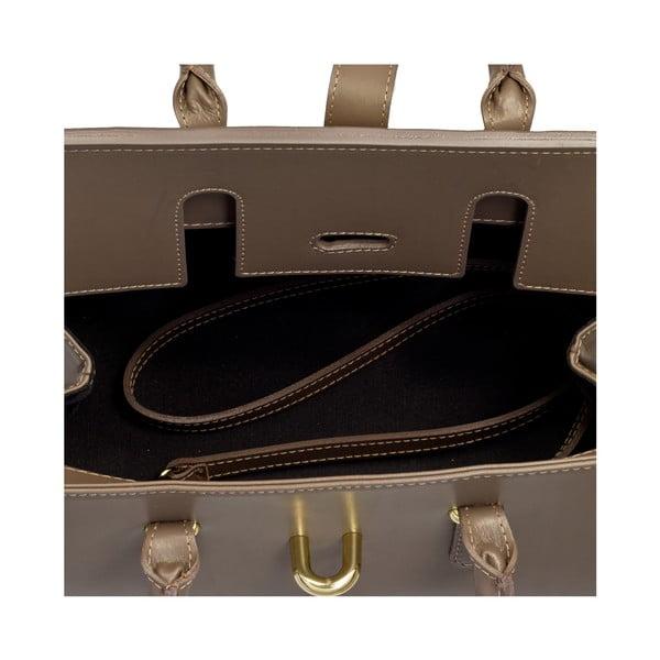 Kožená kabelka Markese 5156 Taupe
