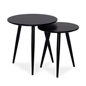 Sada 2 kávových stolíkov Cleo