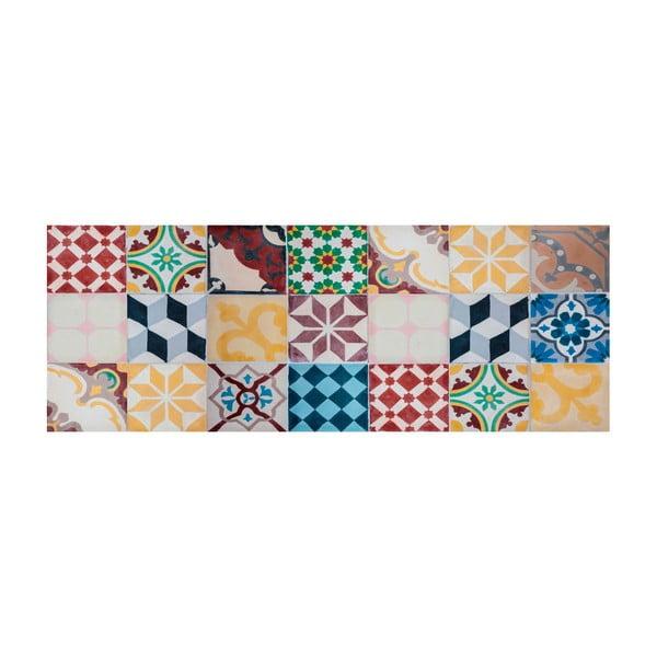 Koberec z vinylu Cocina Mosaico Vintage, 50x100 cm