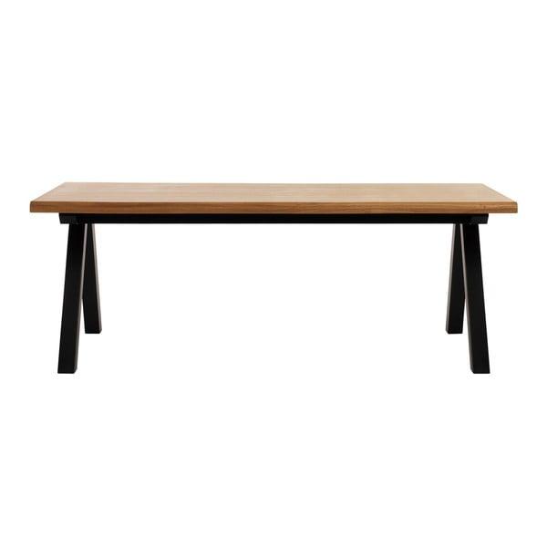Jedálenský stôl z dreva bieleho duba Unique Furniture Oliveto