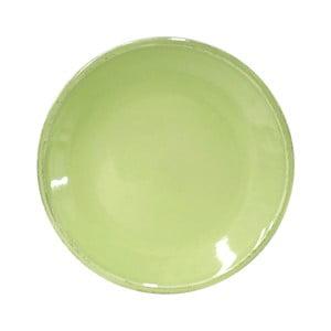 Zelený kameninový dezertný tanier Costa Nova Friso, ⌀ 22 cm