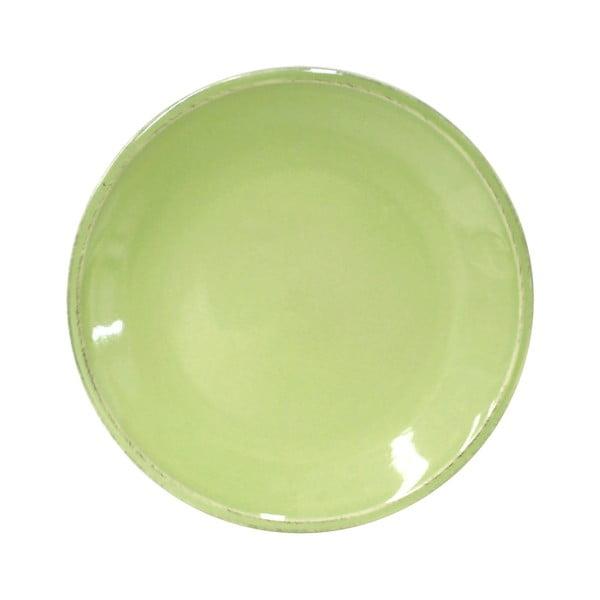 Zelený kameninový dezertný tanier Costa Nova Friso, ⌀ 22cm