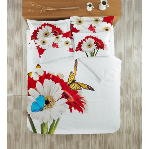 Obliečky s plachtou Gerbera, 200x220 cm