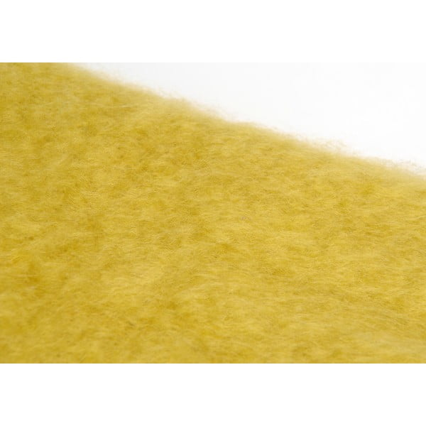 Pléd Mustard, 130x170 cm