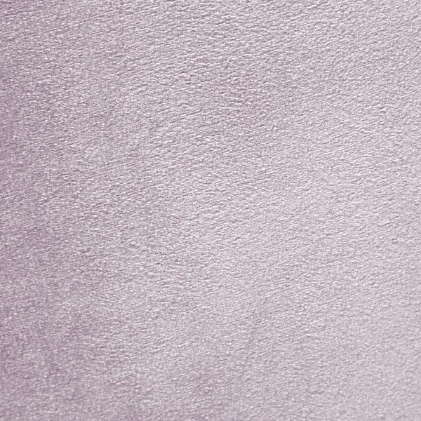 Levanduľovofialové kreslo a podnožka s podnožou v prírodnej farbe Vivonita Cora Velvet