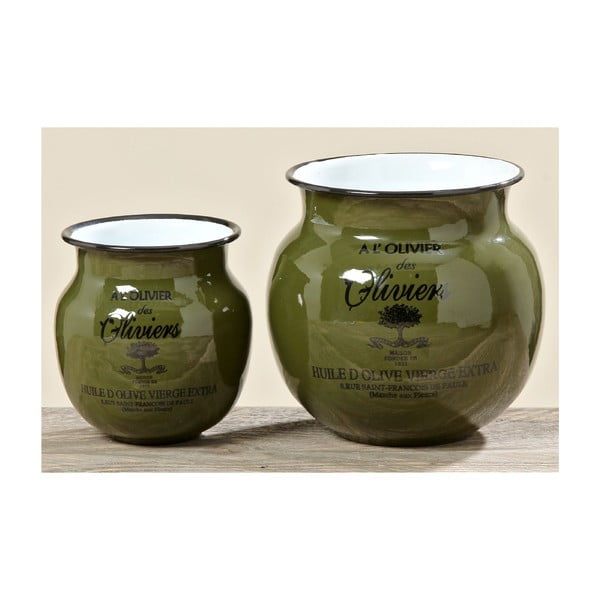 Sada 2 váz Olive
