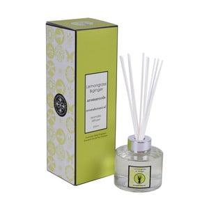Difuzér s vôňou citrónovej trávy a zázvoru Aromabotanical, 200 ml