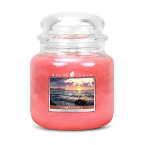 Vonná sviečka v sklenenej dóze Goose Creek Západ slnka, 0,45 kg
