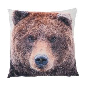 Vankúš J-Line Bear, 45x45 cm