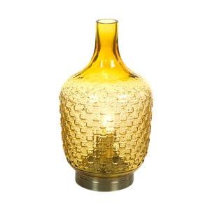 Žltá stolová lampa Santiago Pons Don