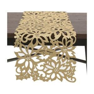 Behúň na stôl  v zlatej farbe InArt XMas